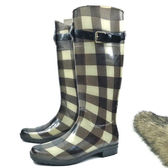 cfe4a70c72 Lauren Ralph Lauren Shoes - Rain Boots Sz 7 Lauren Ralph Lauren Rossalyn